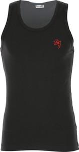 Dolce & Gabbana Dolce & Gabbana Podkoszulek dla Mężczyzn, Black, Cotton, 2017, L M S XL