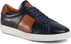 Gino Rossi Sneakersy MI07-A972-A801-01 Granatowy