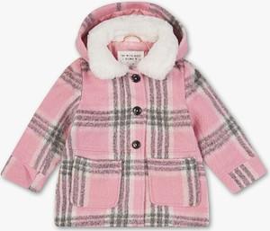 Różowy płaszcz dziecięcy Palomino