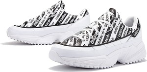 Sneakersy Adidas sznurowane z nadrukiem