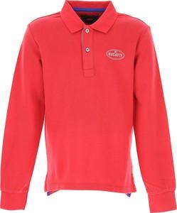 Czerwona koszulka dziecięca Bugatti