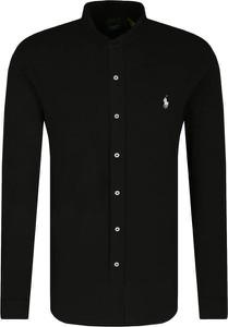 Czarna koszula POLO RALPH LAUREN z długim rękawem w stylu casual