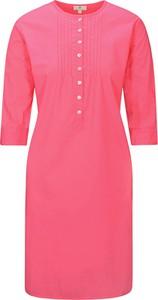 Różowa sukienka Basefield mini prosta