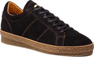 Buty letnie męskie Togoshi z zamszu sznurowane
