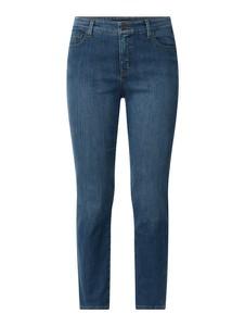 Turkusowe jeansy Ralph Lauren w street stylu z bawełny