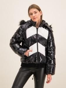 Czarna kurtka Michael Kors w stylu casual krótka