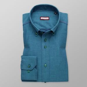 Niebieska koszula Willsoor z klasycznym kołnierzykiem