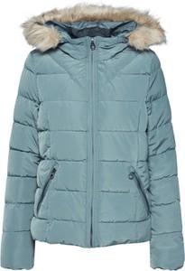 Niebieska kurtka Vero Moda krótka w stylu casual