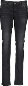 Czarne jeansy Replay z bawełny