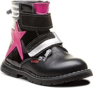 Buty zimowe Zarro z zamszu