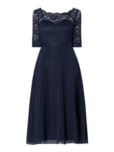 Sukienka Swing z długim rękawem