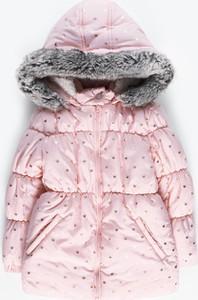 Różowa kurtka dziecięca Gate