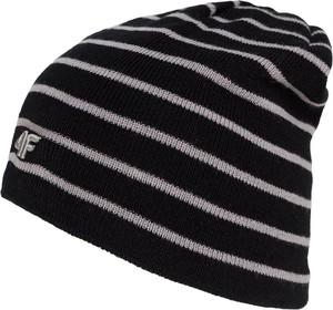 Czarna czapka 4f junior
