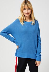 Niebieski sweter Moodo