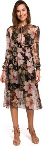 Sukienka Merg midi rozkloszowana
