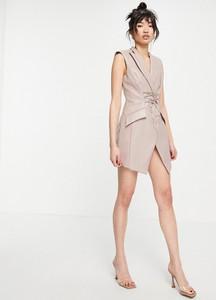 Sukienka Asos bez rękawów gorsetowa mini