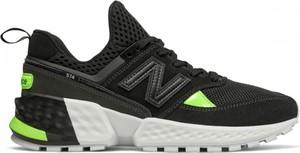 1e9efa8cff0a83 Czarne buty sportowe New Balance z zamszu 574