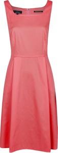 Różowa sukienka Daniel Hechter bez rękawów mini
