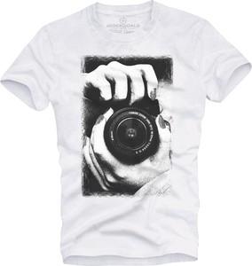 T-shirt Underworld w młodzieżowym stylu z nadrukiem z krótkim rękawem