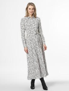 Sukienka EDITED z kołnierzykiem w stylu casual z długim rękawem