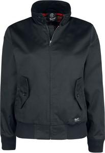 Czarna kurtka Emp krótka w stylu casual