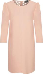 Sukienka Elisabetta Franchi z okrągłym dekoltem mini