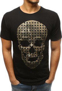 T-shirt Dstreet z krótkim rękawem w młodzieżowym stylu z bawełny