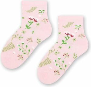 Różowe skarpetki Steven dla dziewczynek