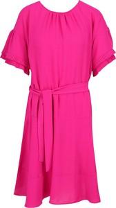 Sukienka Silvian Heach z krótkim rękawem mini