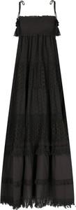 Sukienka Twinset rozkloszowana maxi