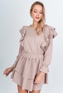 Sukienka ZOiO.pl w stylu casual z długim rękawem
