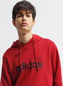 Czerwona bluza Adidas
