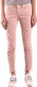 Jeansy Dondup z bawełny w stylu casual