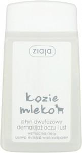 Ziaja, Kozie Mleko, wodoodporny płyn dwufazowy demakijaż oczu i ust, 120 ml