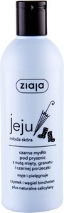 Ziaja Jeju Black Shower Soap Żel Pod Prysznic 300Ml