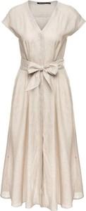 Sukienka Pennyblack z dekoltem w kształcie litery v z krótkim rękawem