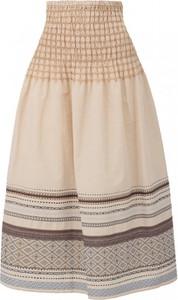 Różowa spódnica POTIS & VERSO w stylu boho