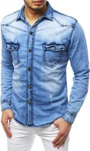 Koszula Dstreet z długim rękawem z bawełny