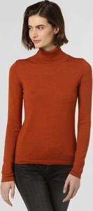 Pomarańczowy sweter brookshire w stylu casual