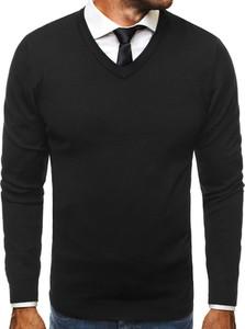 Czarny sweter BRUNO LEONI z wełny