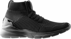 Czarne buty sportowe Sprandi sznurowane
