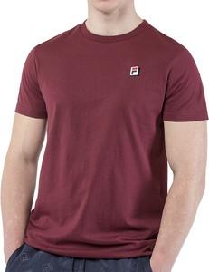 T-shirt Fila z bawełny z krótkim rękawem