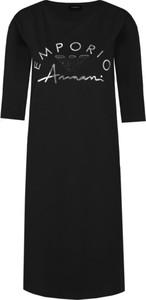 Sukienka Emporio Armani prosta