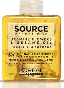 L'Oreal Paris Loreal Source Essentielle Nourishing Shampoo | Nawilżający szampon do włosów suchych i uwrażliwionych 300ml - Wysyłka w 24H!