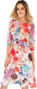 Sukienka POTIS & VERSO z żakardu w stylu casual