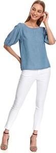 Bluzka Top Secret w stylu casual z długim rękawem z okrągłym dekoltem