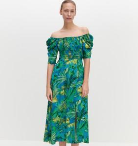 Sukienka Reserved w stylu casual z krótkim rękawem