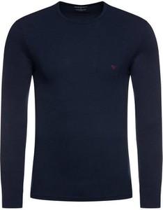Koszulka z długim rękawem Emporio Armani w stylu casual z bawełny