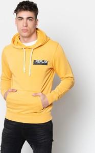 Żółta bluza Replay