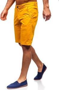 Żółte spodenki Denley